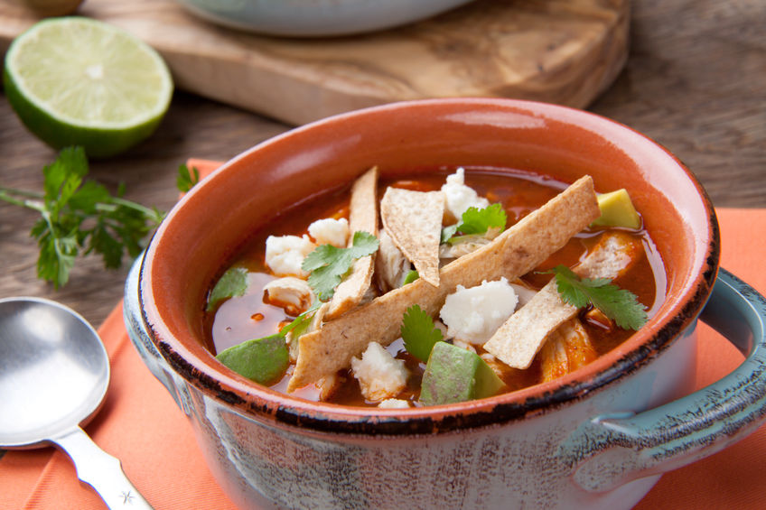 Chicken Tortilla Soup Recipe + This Weekend's Winners