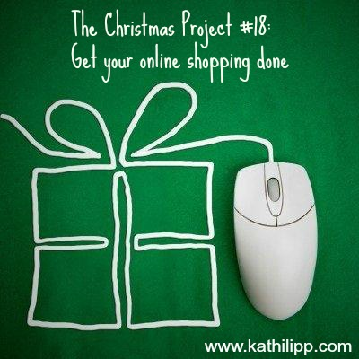 The Christmas Project #18: Get your online shopping done!