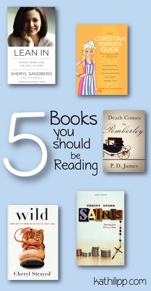 5 Books You Should Be Reading