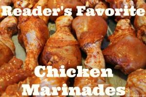 Reader's Favorite Chicken Marinades