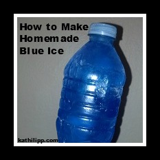 square How to make blue ice