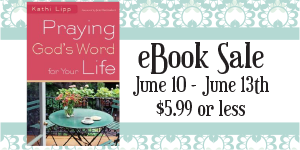 Praying God's Word for Your Life- MAJOR SALE!