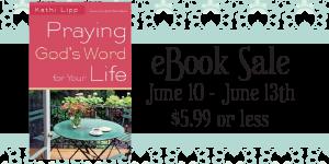 Praying God's Word for Your Life- MAJOR SALE!