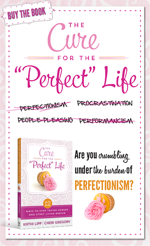 "Buy the Book- The Cure for the ""Perfect"" Life"