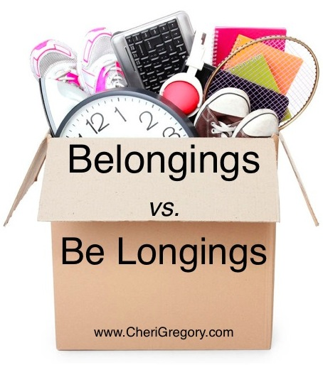 Belonging vs Be Longings IMAGE