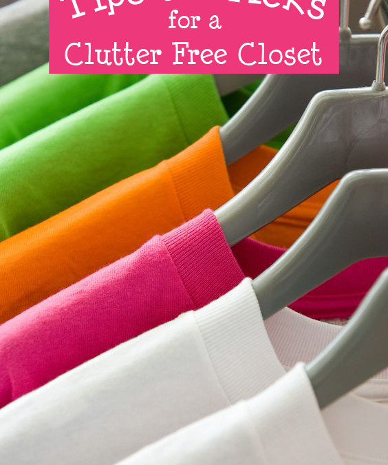 Podcast #148-Tips and Tricks for a Clutter Free Closet