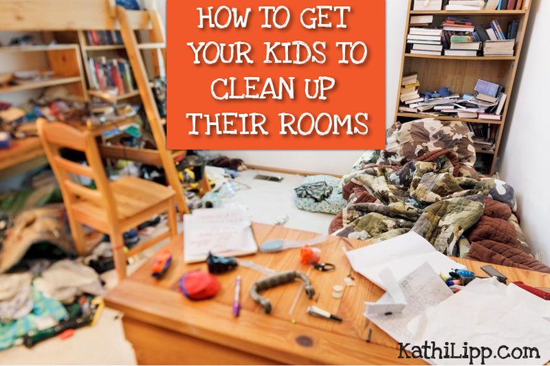 How to Get Your Kids to Clean Up Their Rooms