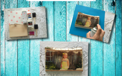 Create Custom Photo Gifts- Idea #3 Wood Transfer