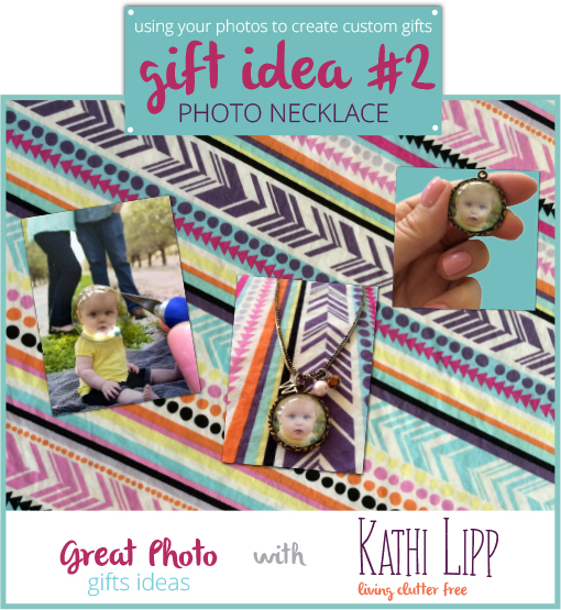 Create Custom Photo Gifts- Idea #2 Photo Necklace