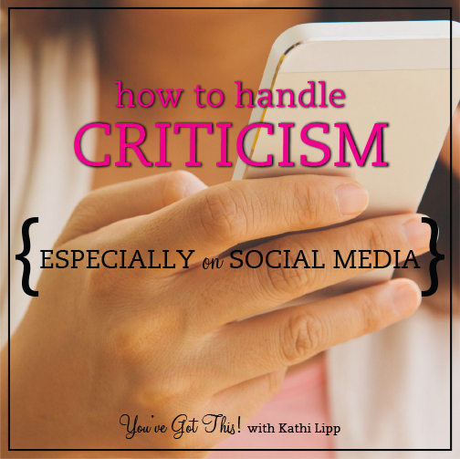 Podcast #154-How To Handle Criticism