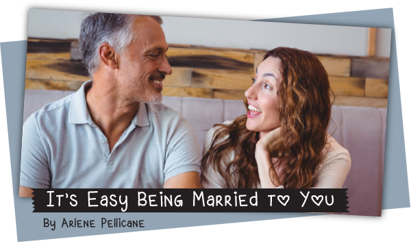 Day 1 to a Better Marriage: It's Easy Being Married to You by Arlene Pellicane