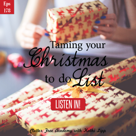 CORRECT LINK ATTATCHED-Episode #178-Taming Your To Do List, Christmas Edition with Glynnis Whitwer