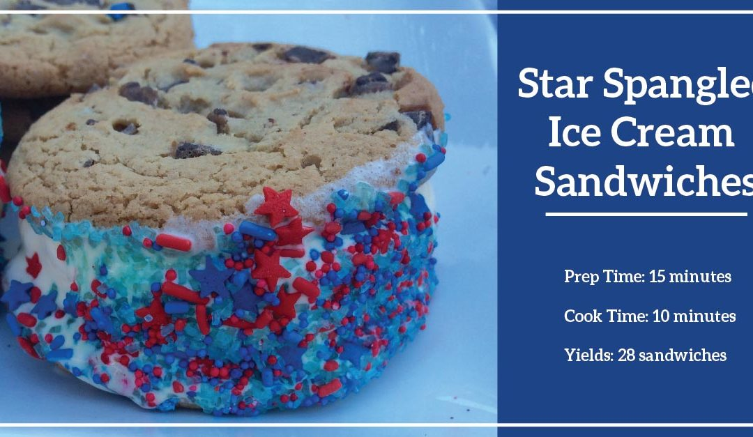 Recipes to Crave: Star-Spangled Ice Cream Sandwiches