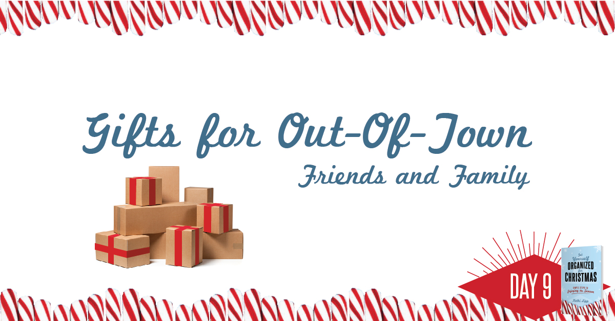 gifts for out-of-town family
