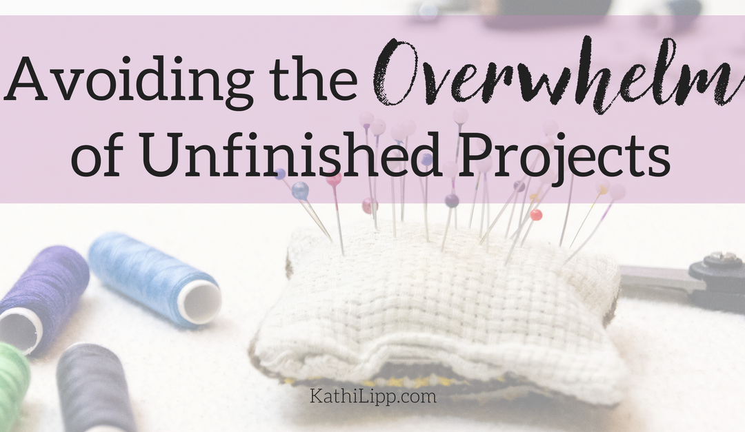 Are You Overwhelmed by an Unfinished Project?