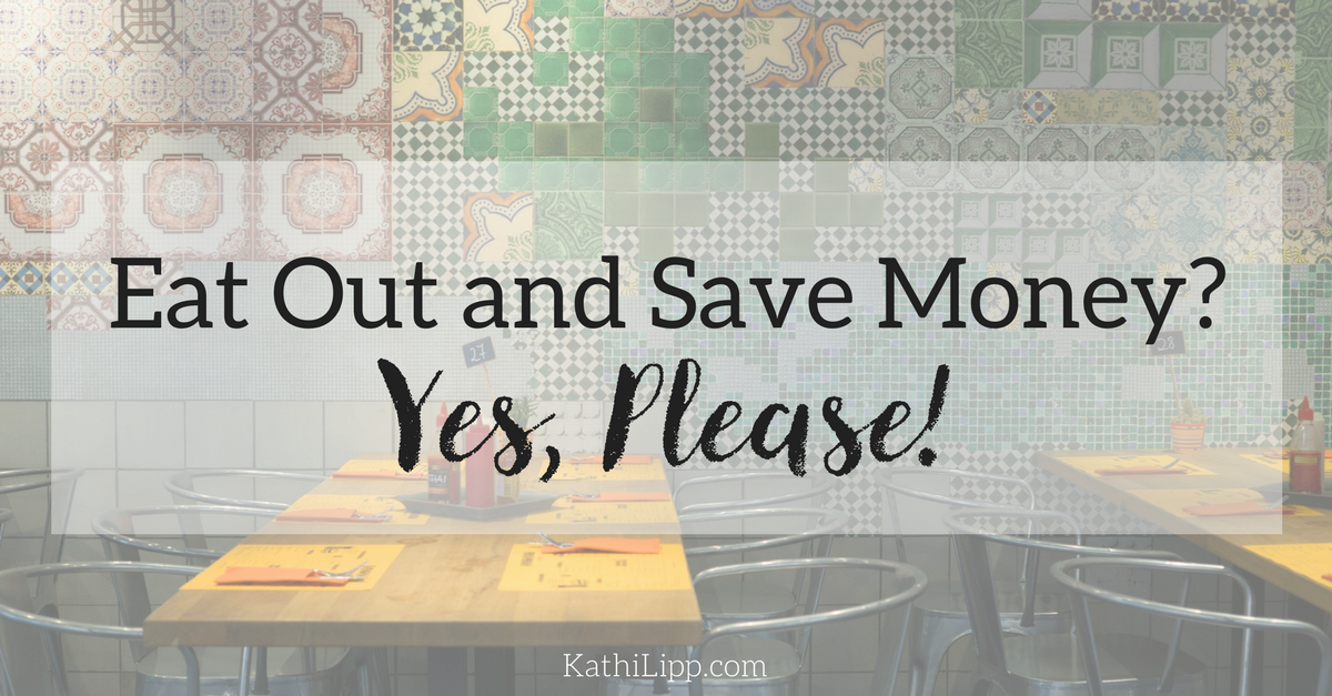 eat out and save money