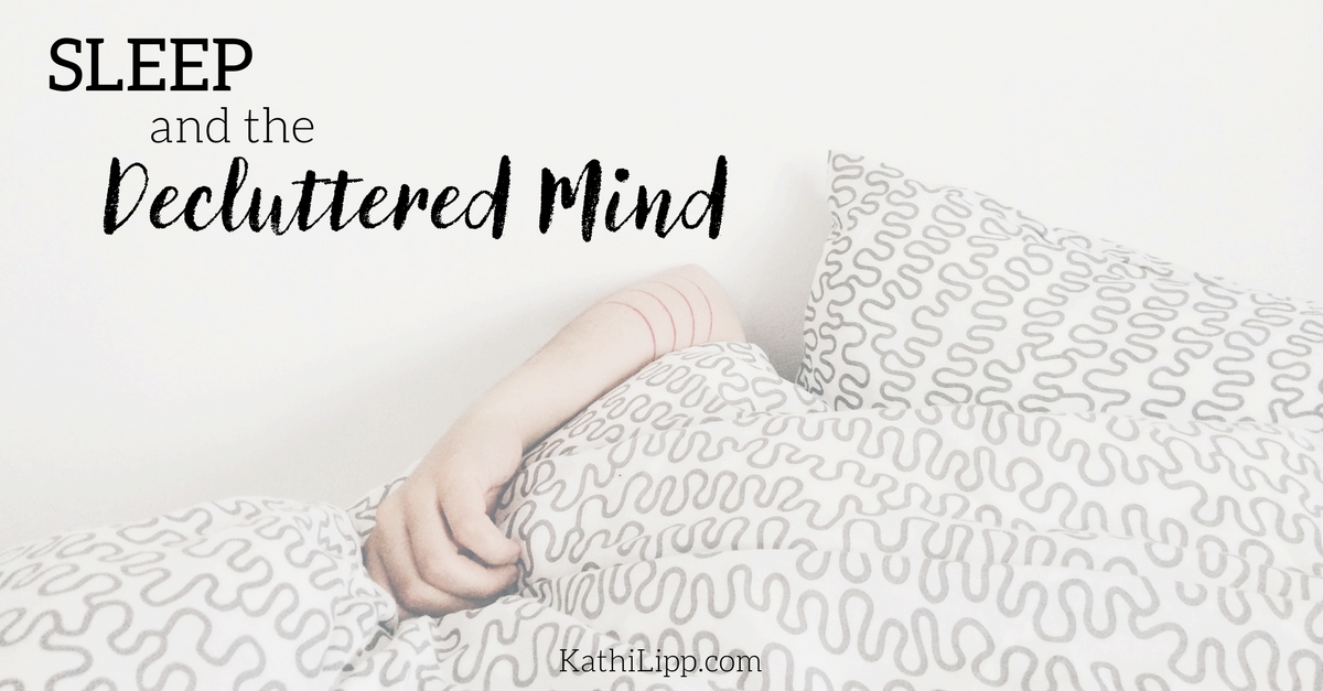 clutter-free mind