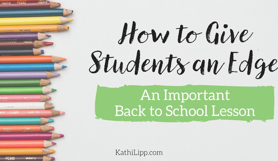 Save on School Supplies (& Give Your Students an Important Lesson)