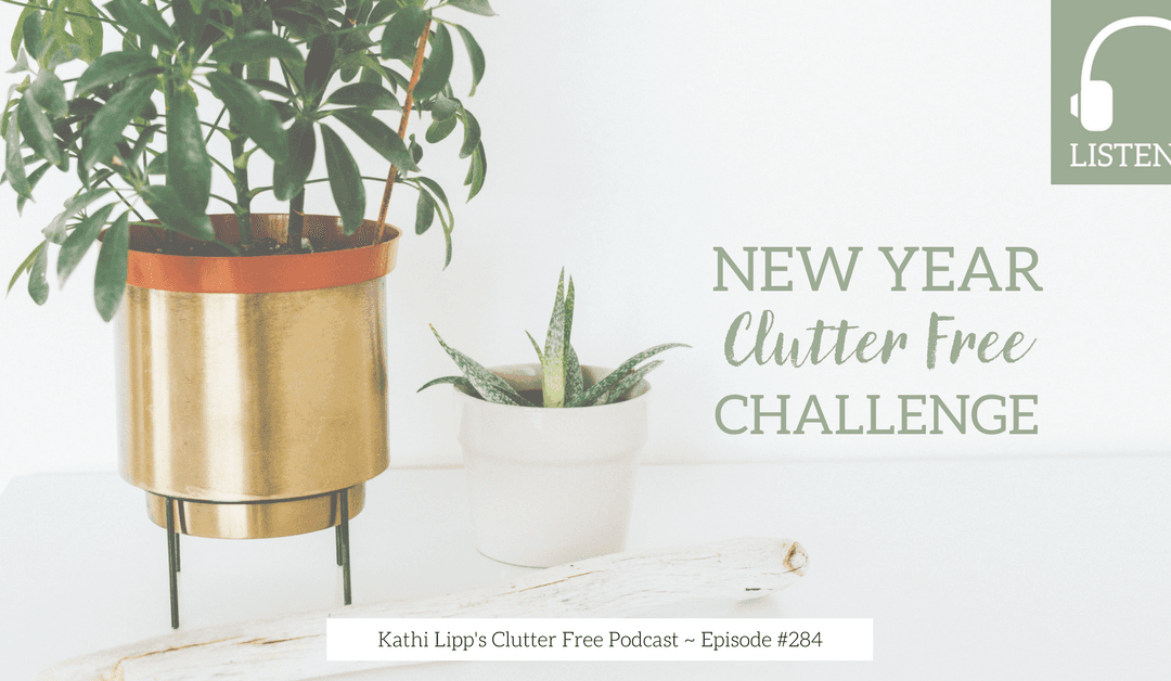 Podcast Eps: #284: New Year Clutter Free Challenge