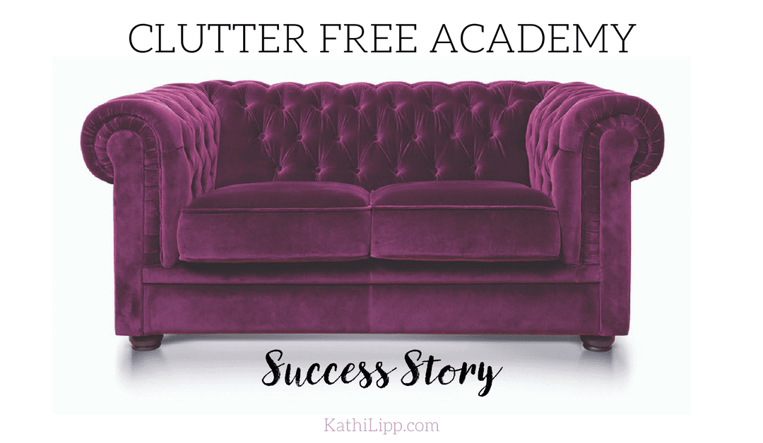Clutter Free Success Story – Junk Drawer(s) & Family Time