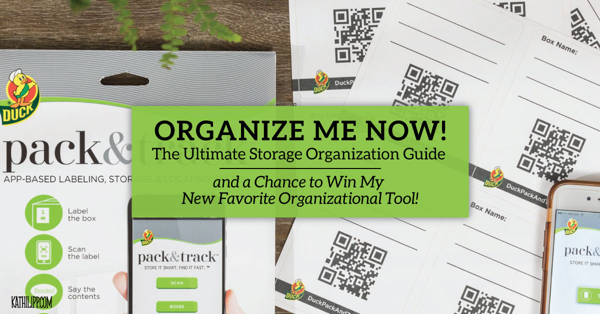 organize me - storage organization guide
