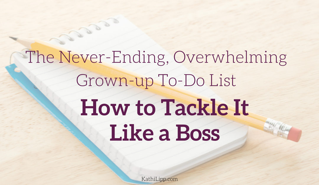 Get Tasks Done: How to Tackle Your Never-Ending To-Do List
