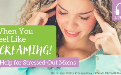 #329 When You Feel Like Screaming-Help For Stressed Out Moms With Sue Heimer
