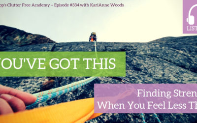 #334 You've Got This: Finding Strength When You Feel Less Than with KariAnne Wood