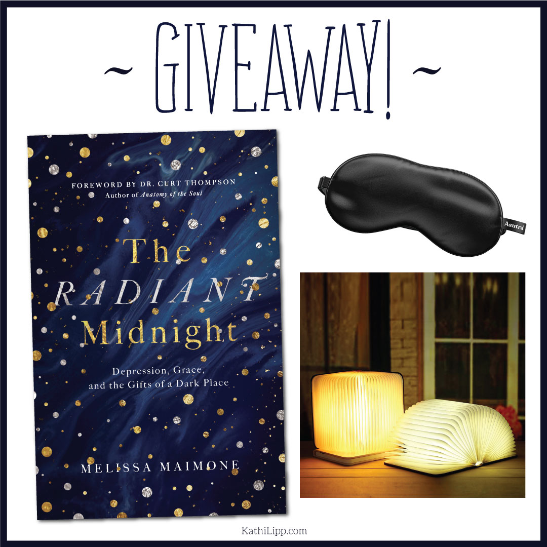 Giveaway- book eye mask and lamp
