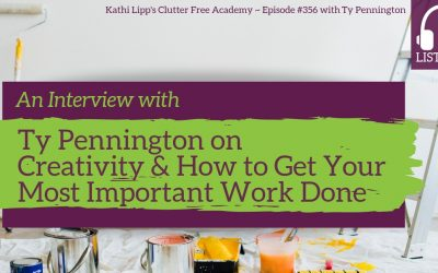 #356 An Interview with Ty Pennington on Creativity and How to Get Your Most Important Work Done
