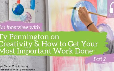 #356 BONUS An Interview with Ty Pennington on Creativity and How to Get Your Most Important Work Done Part 2