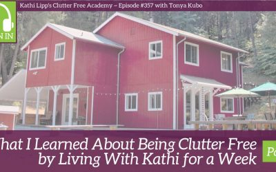 #357 What I Learned About Being Clutter Free by Living with Kathi for a Week Part 1 with Tonya Kubo