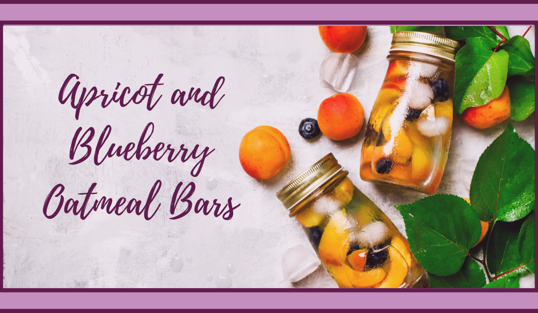 Apricot and Blueberry Oatmeal Bars