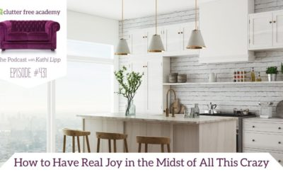 #431 How to Have Real Joy in the Midst of All This Crazy with Author Suzie Eller