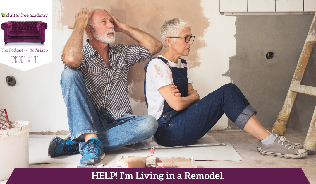 449 Help! I'm Living in a Remodel. What Should I do? Questions with Kelly and Kathi