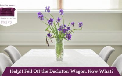457 Help! I Fell Off the Declutter Wagon. Now What? Questions with Kathi and Kelly
