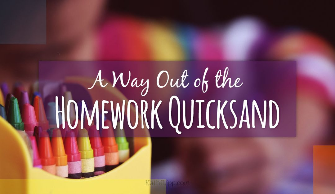A Way Out of the Homework Quicksand