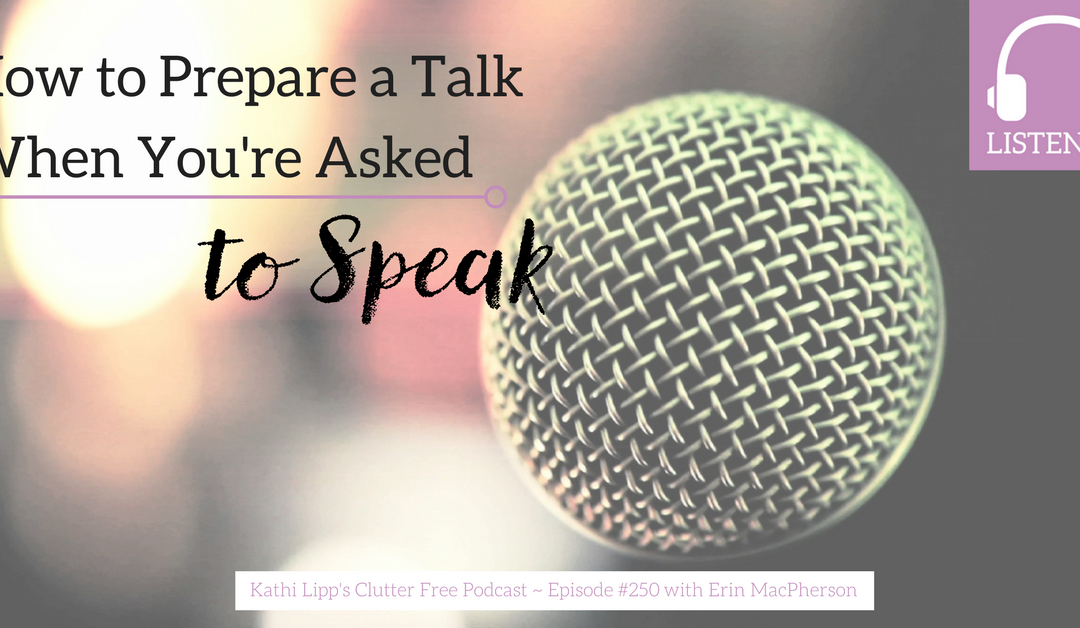 Episode #250: How to Prepare a Talk When You're Asked to Speak